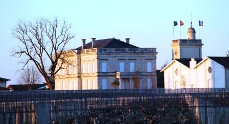 Chateau Gruaud-Larose, Saint Julien. Foto Johan Magnusson, 6 april 2015